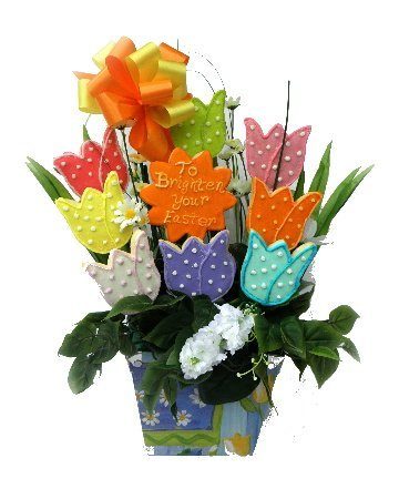 Easter Cookie Bouquet Gifts