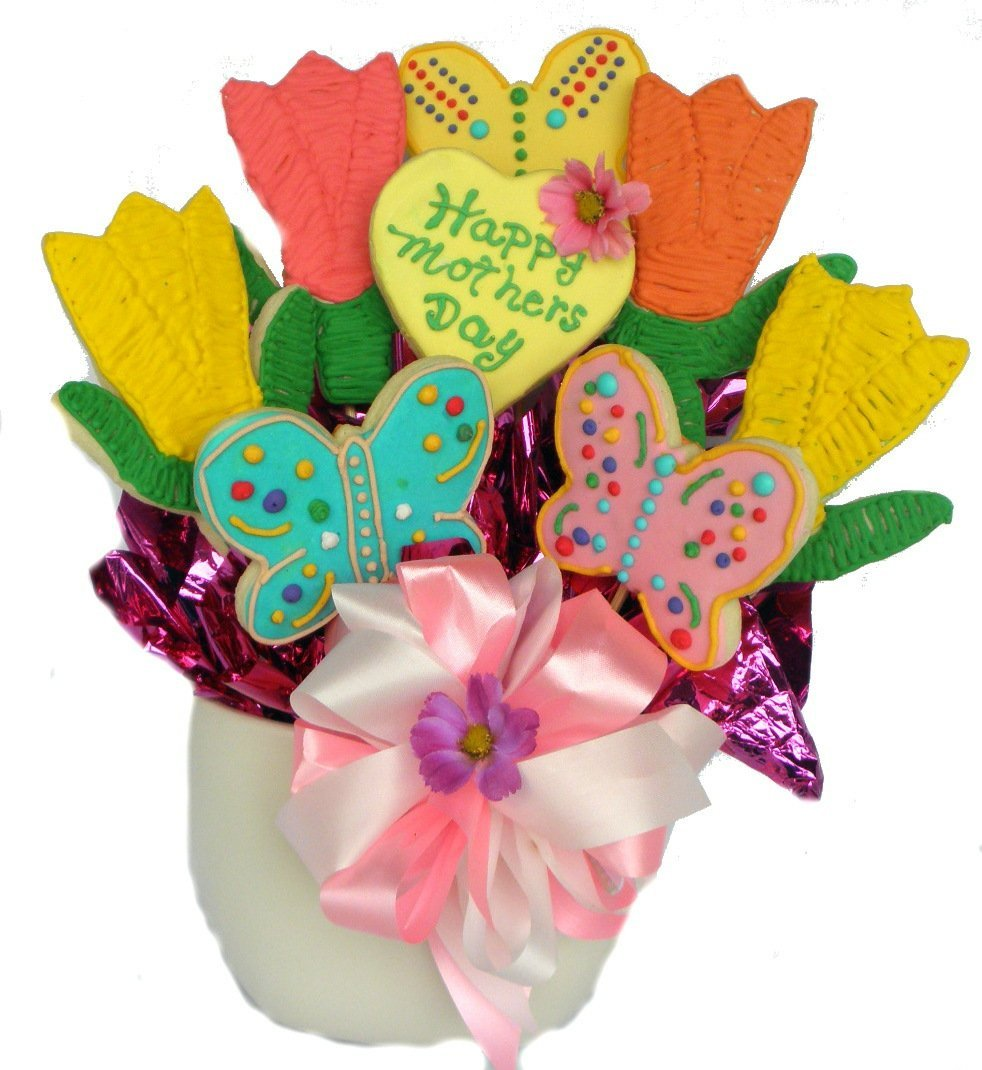 Mother's Day Cookie Bouquet Gift