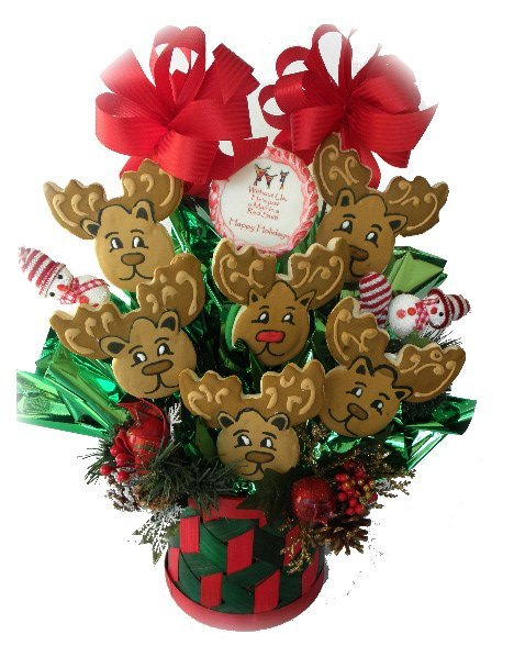 CHRISTMAS COOKIE GIFT BOUQUETS