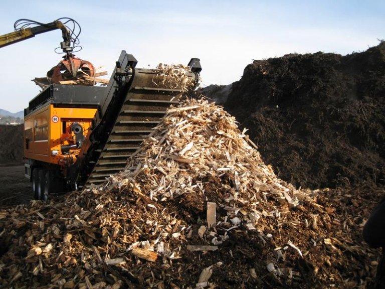 Green waste shredding