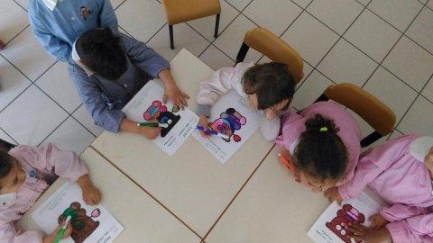 Laboratorio scuola Materna di Chiavazza