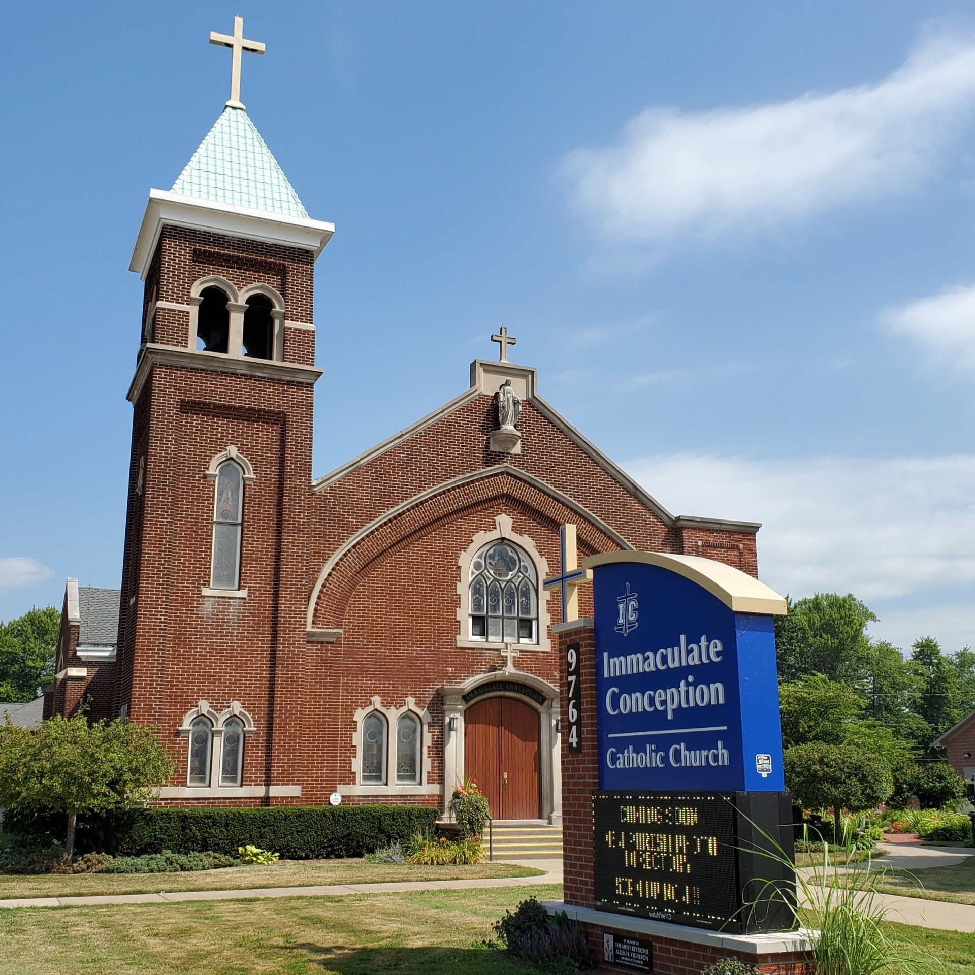 Grace line Prayer Requests - Immaculate Conception Church