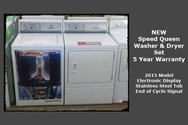Add Speed Queen E92 Washer Dryeralt text