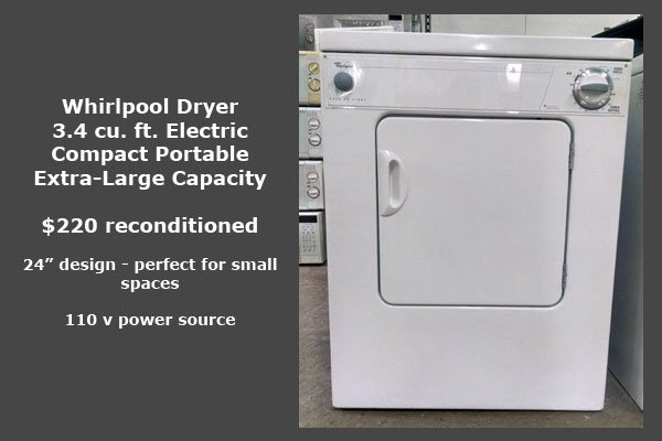 Whirlpool Spacesaver Dryer