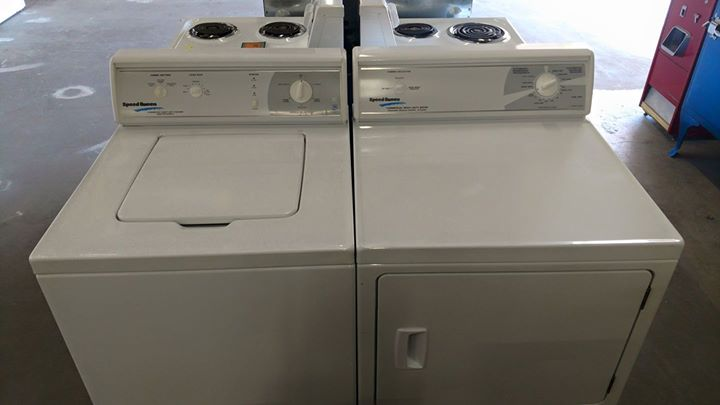 Used Speed Queen Washer Dryer Set