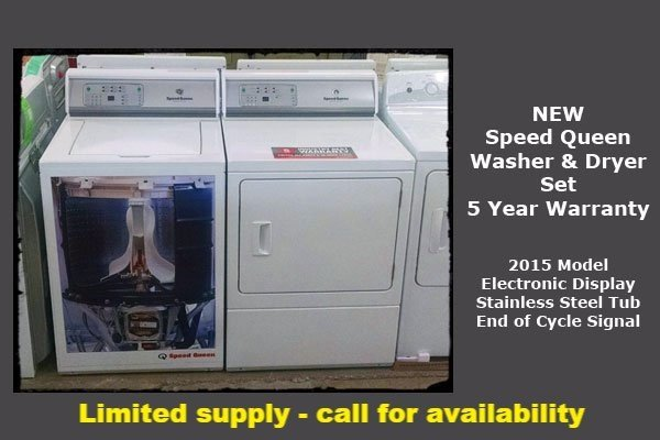Speed Queen Washer Dryer