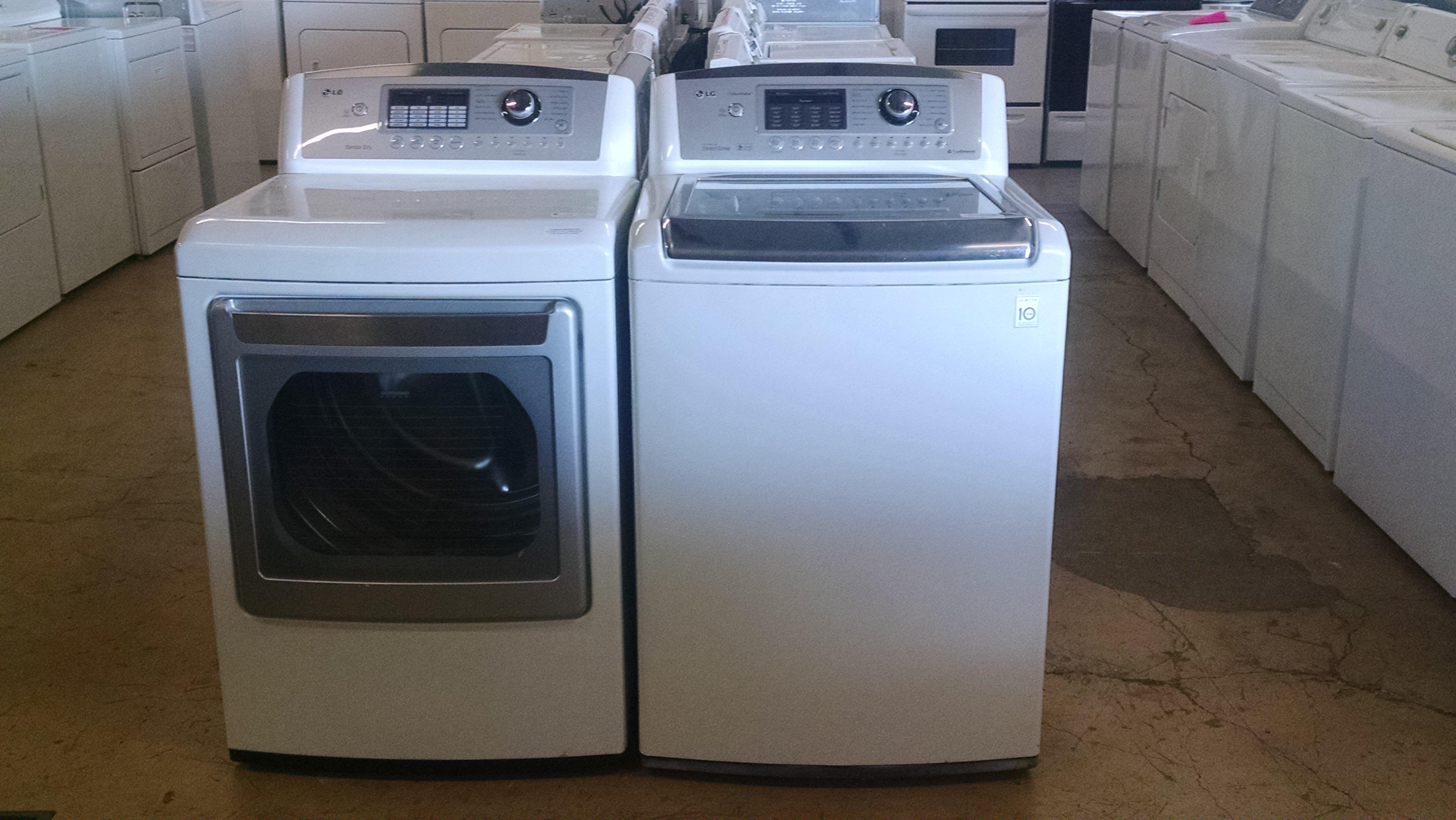 LG washer dryer set