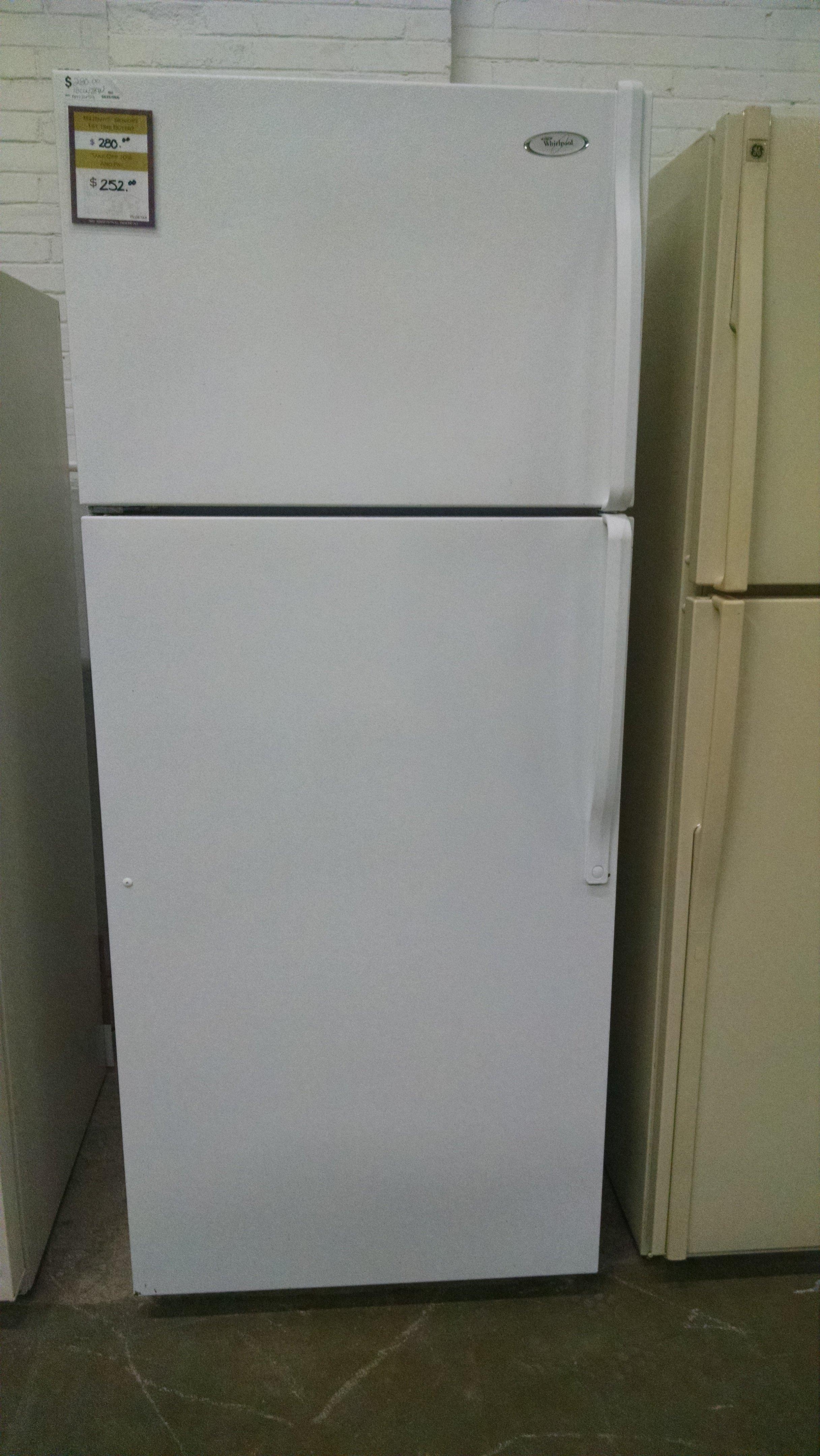 Whirlpool topmount refrigerator