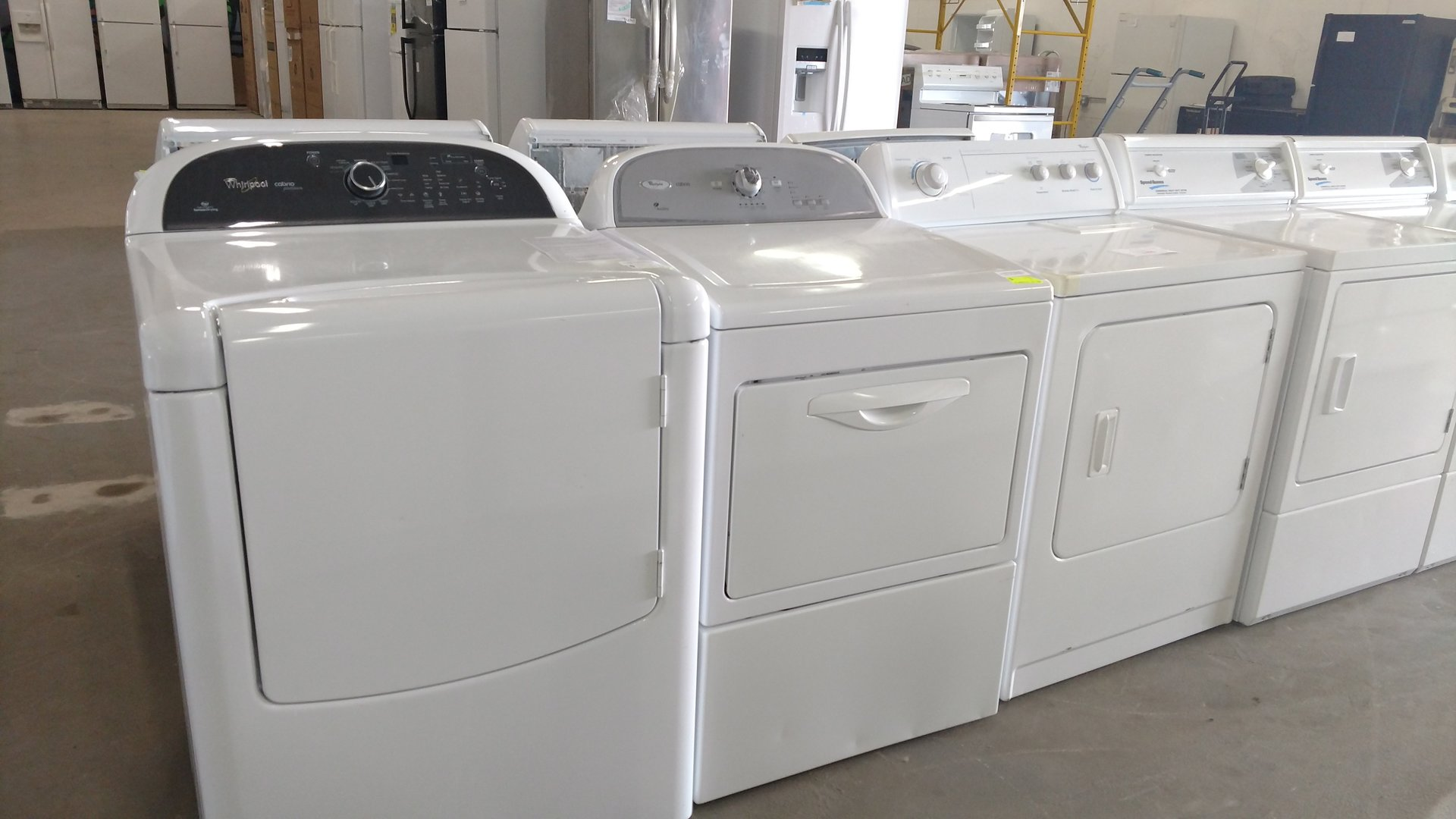 Sample of dryers