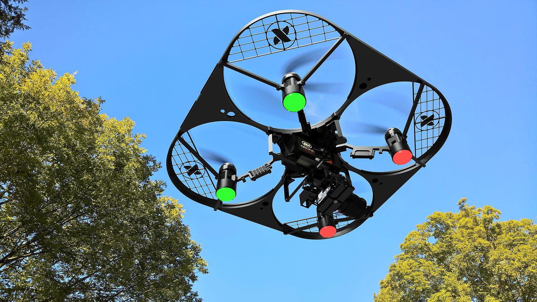 free bird drone