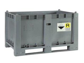 Contenitore 600 Plus per batterie