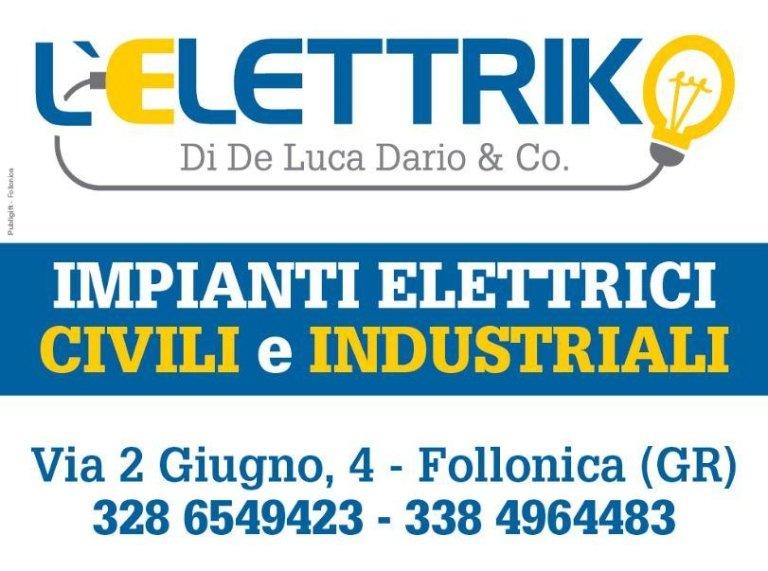 impianti elettrici civili e industriali a Follonica