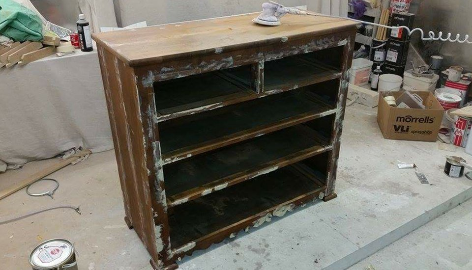 Furniture restoration in Brighton