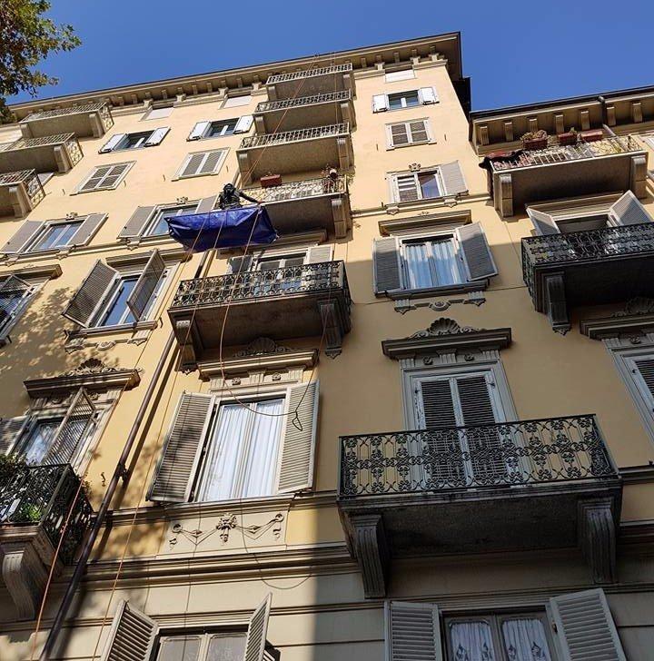 ripristino sotto balconi