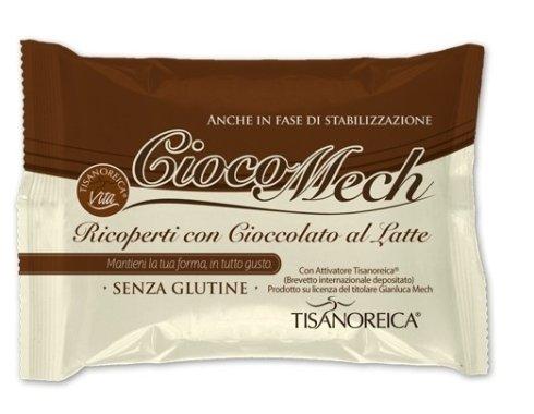 Ciocomech ricoperti con cioccolato al latte