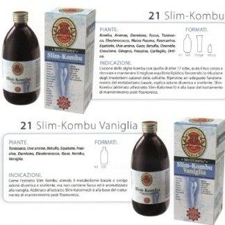 bottiglia di prodotto decottopia nominato Slim – Kombu Vaniglia