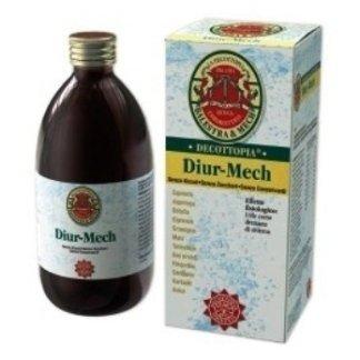 bottiglia di prodotto decottopia nominato Diur- Mech