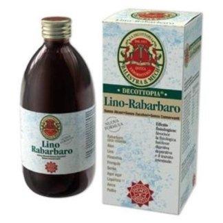 bottiglia di prodotto decottopia nominato Lino Rabarbaro