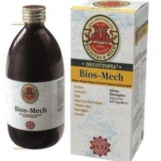 bottiglia di prodotto decottopia nominato Bios Mech