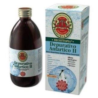 bottiglia di prodotto decottopia nominato Denurativo Antartico  II