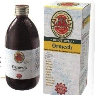 bottiglia di prodotto decottopia nominato Ormech