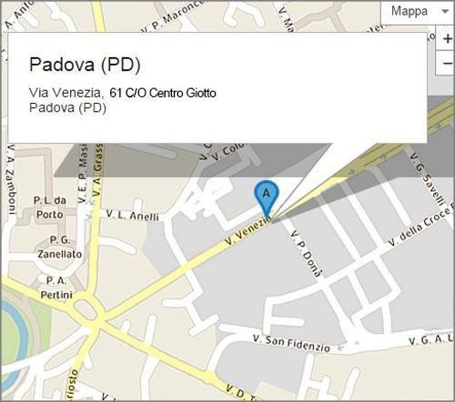 Via Giotto, 61 - Padova (PD)