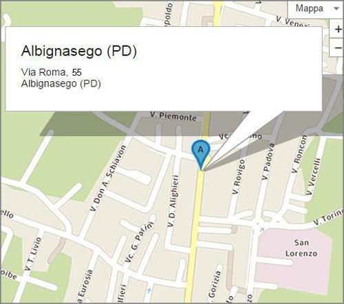 Via Roma, 55 - Albignasego (PD)