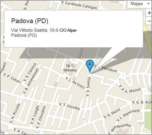 Via Vittorio Saetta 6 - Padova (PD)