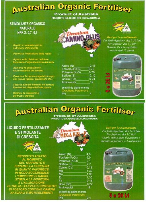 Australian organic fertiliser a Australian Organic Fertiliser Ad Avezzano