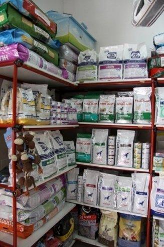 reparto cibo animali