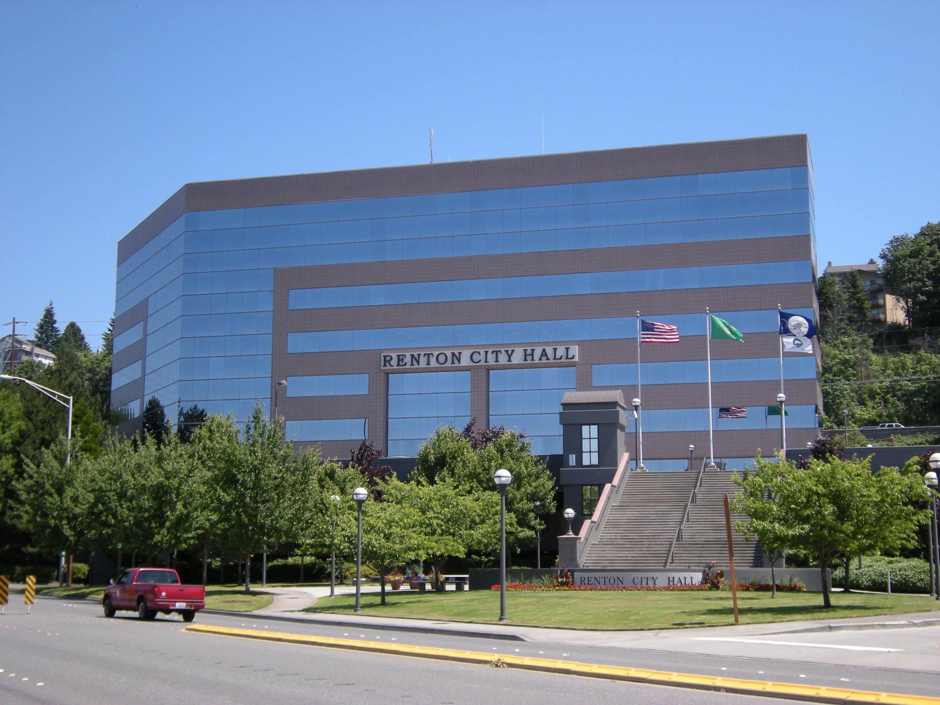 City Hall Building in Renton, WA