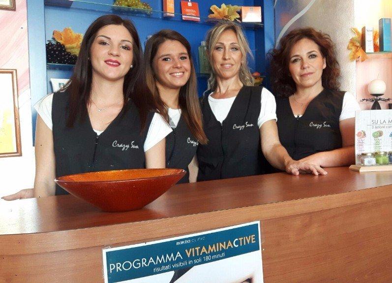 lo staff composto da quattro donne