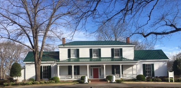 We are just completing a project at Oak Tree Tavern, a beautifully restored 1800s plantation house at Virginia International Raceway. We used Premium Standing Seam metal in Hunter Green. Skywalker Roofing – Making old things new again.