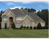 House after re-roofing services in Eden, NC