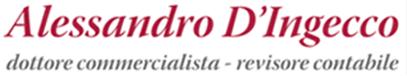 DOTTORE COMMERCIALISTA D'INGECCO ALESSANDRO-Logo