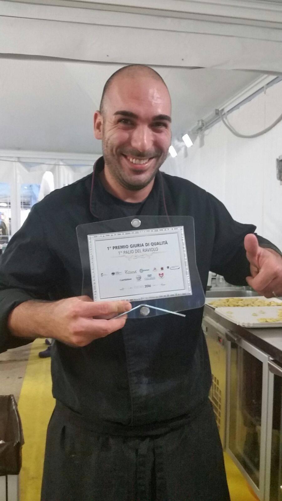 primo premio palio del raviolo