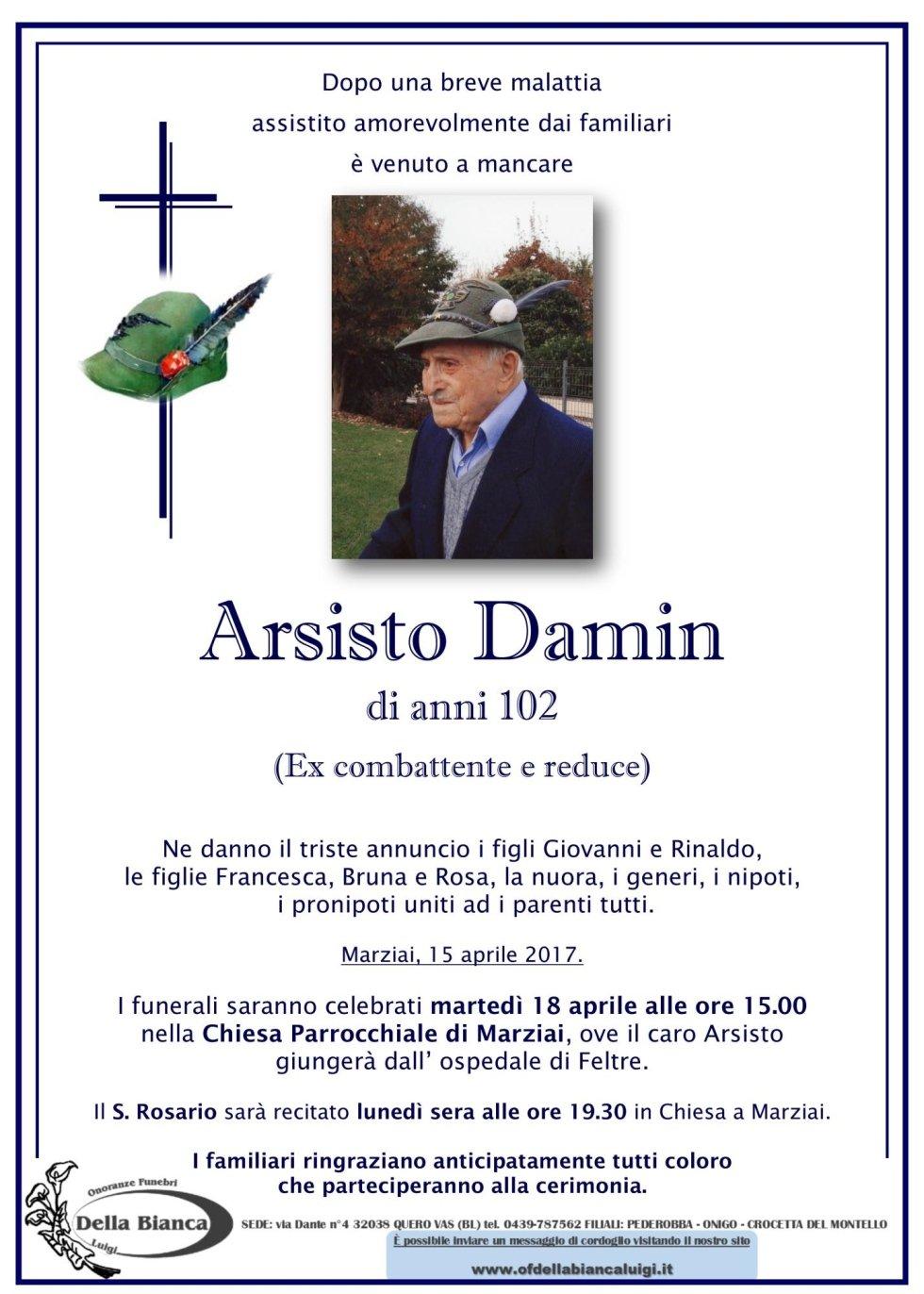 Damin Arsisto