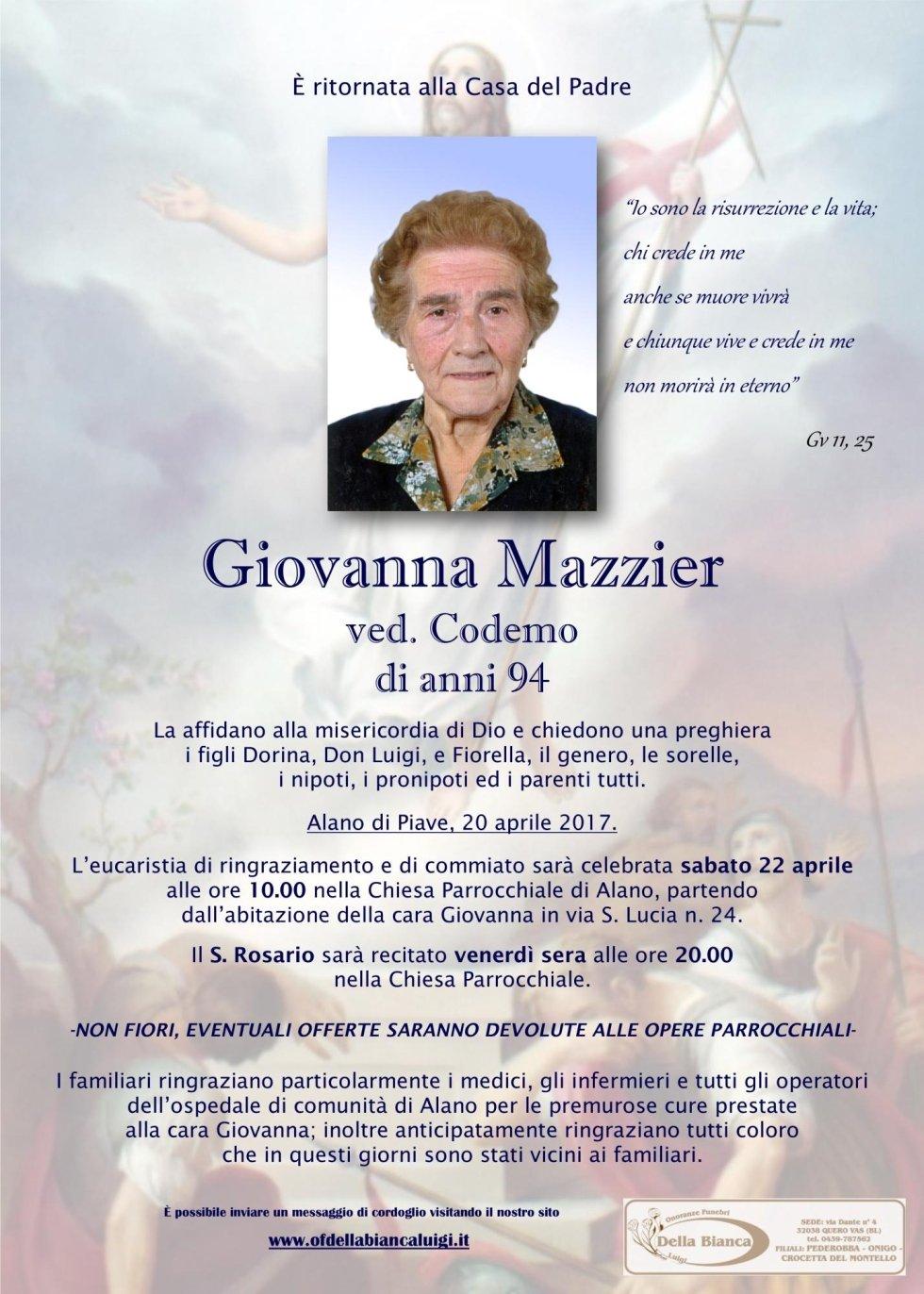 Mazzier Giovanna