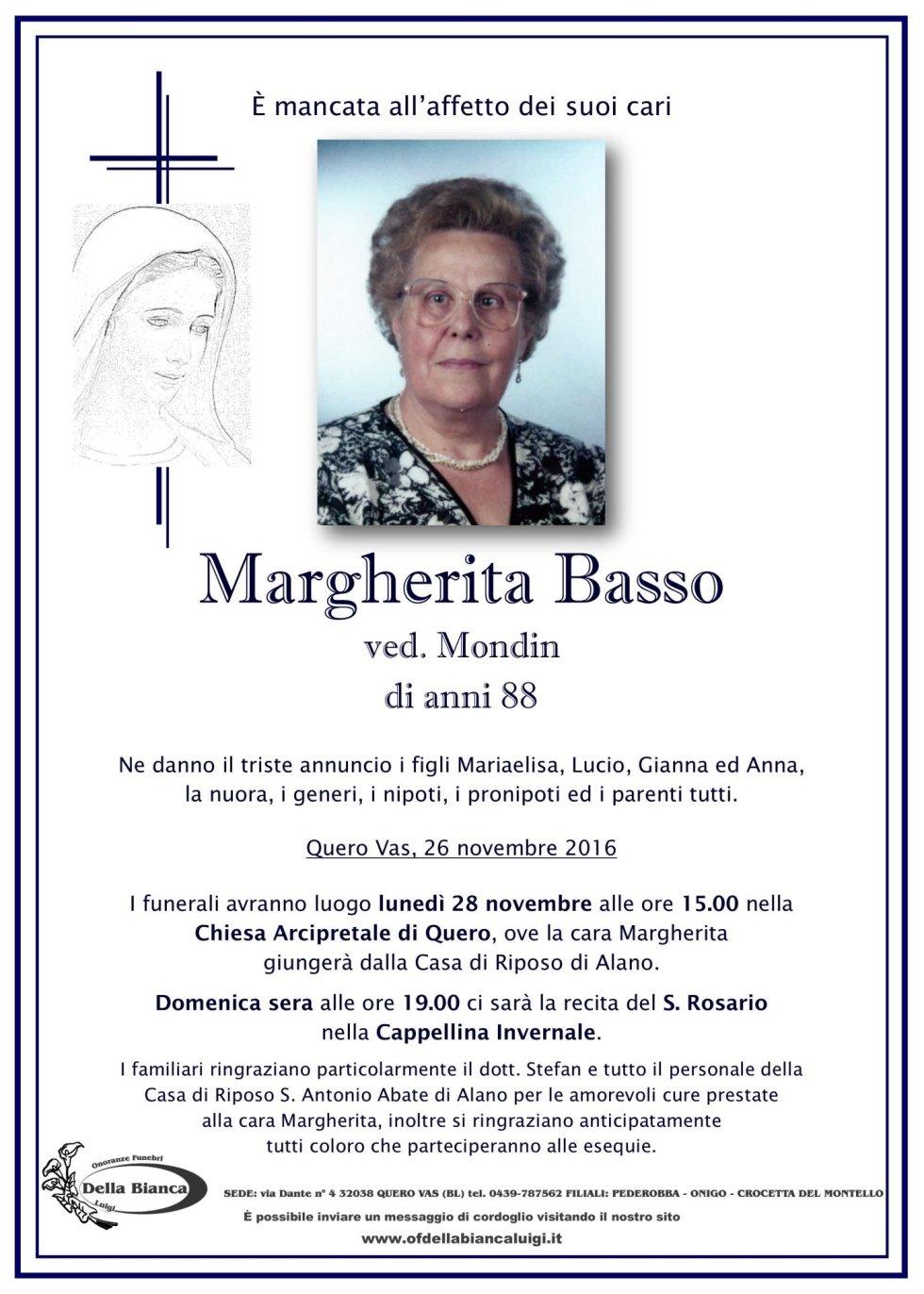 Basso Margherita