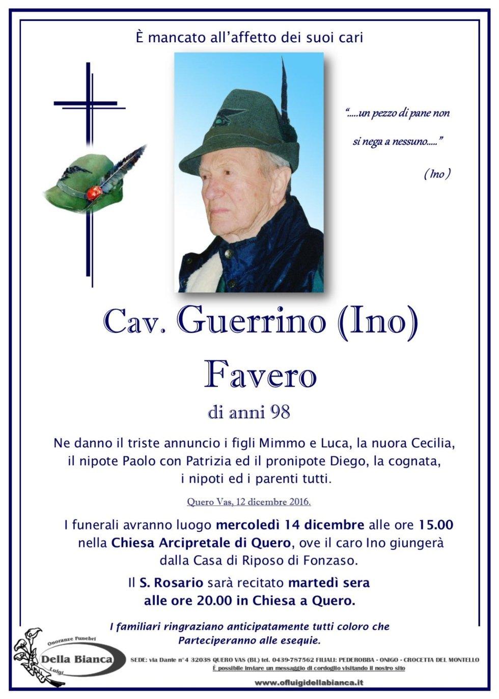 Guerrino Favero
