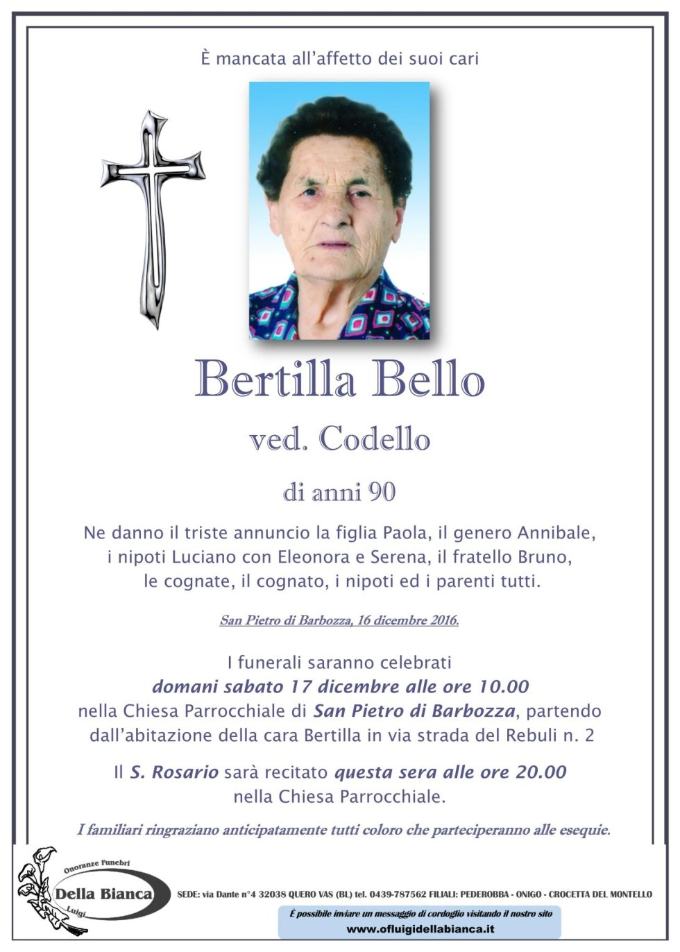 bello bertilla