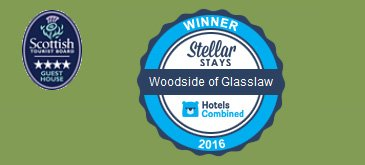 Accreditation - Woodside of Glasslaw Guest House