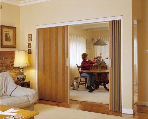 light wood door