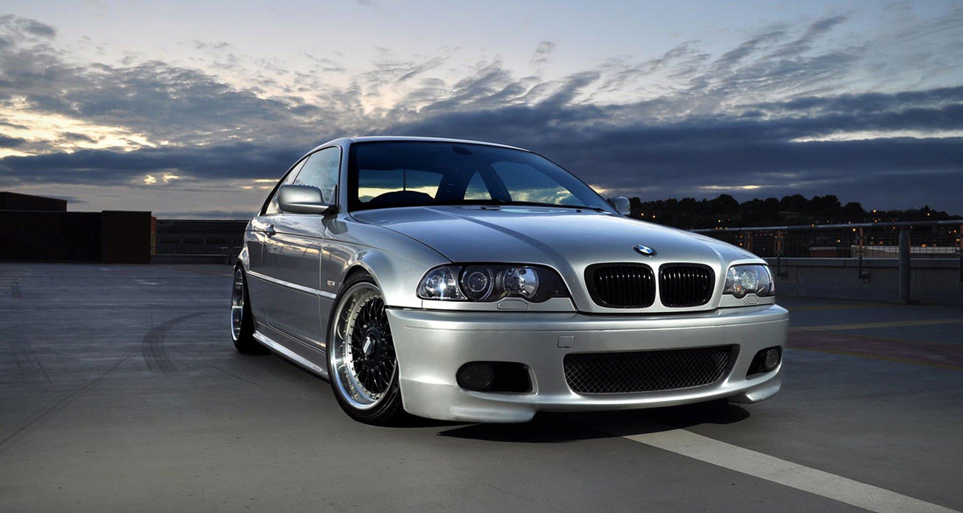 grey BMW