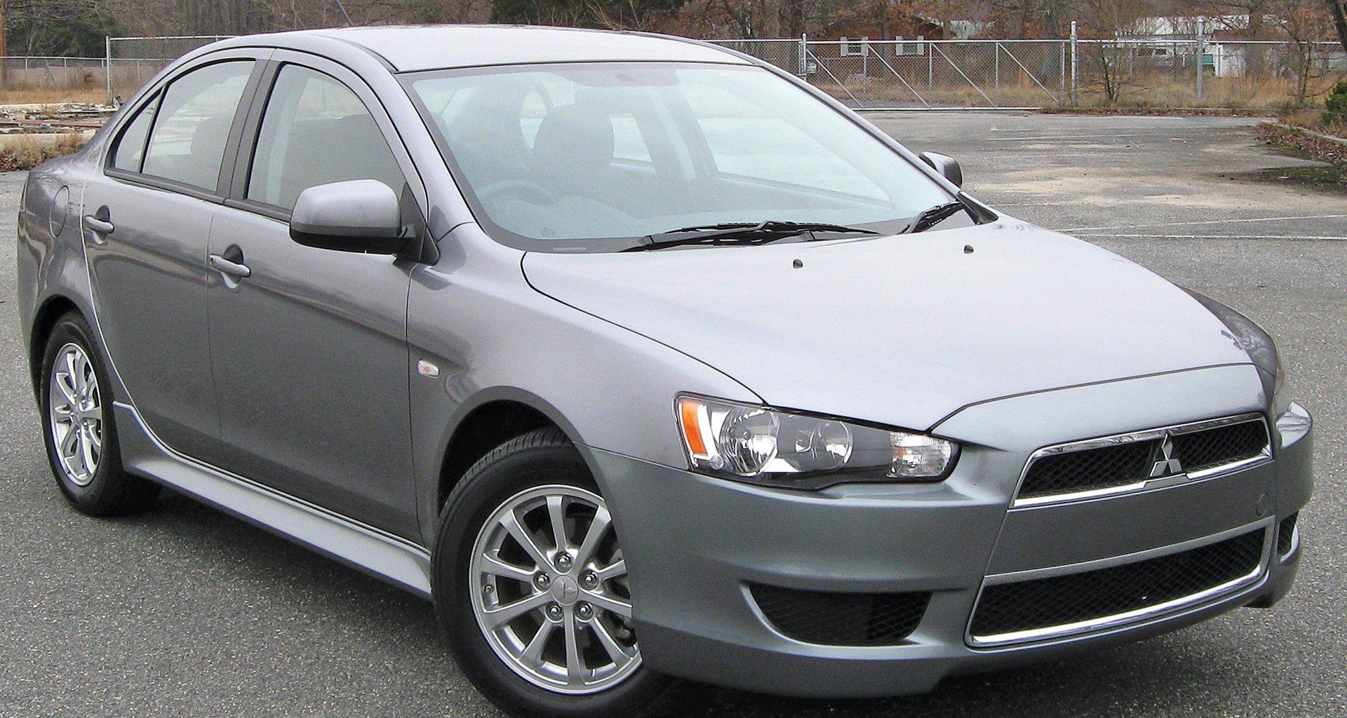 Grey Mitsubishi