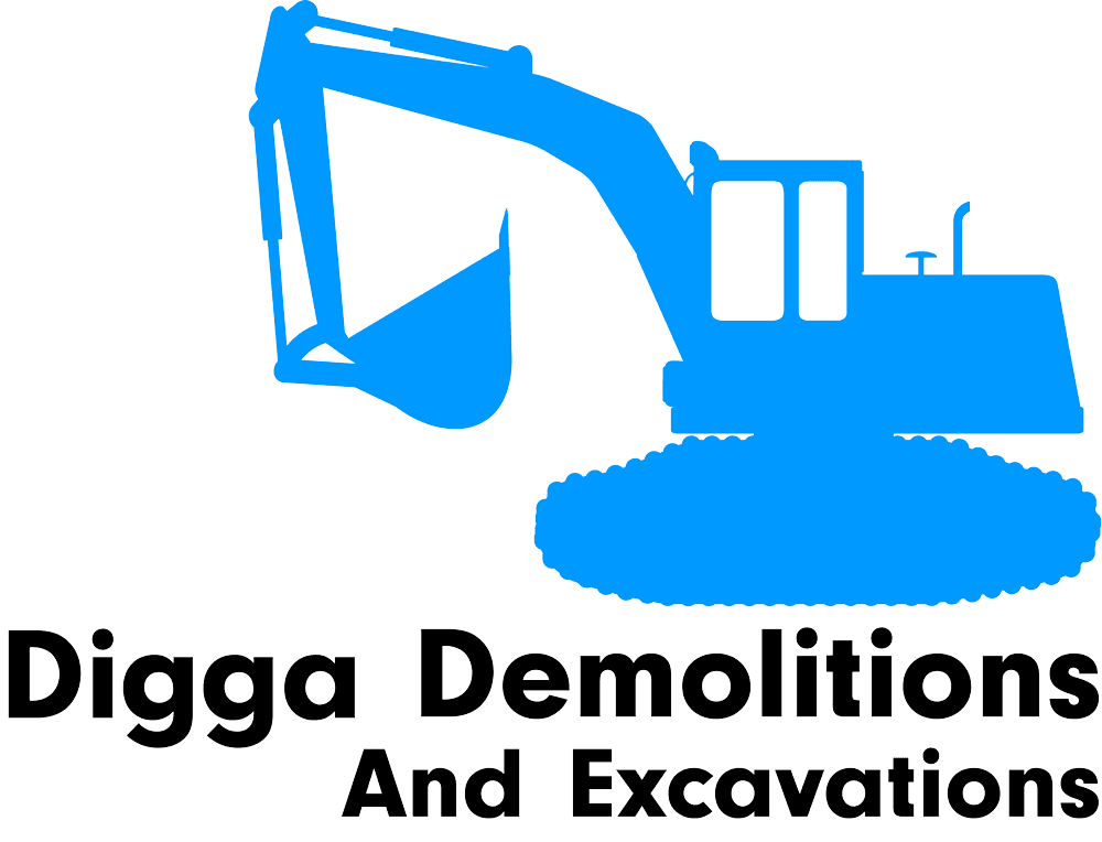 digga demolitions and excavations logo