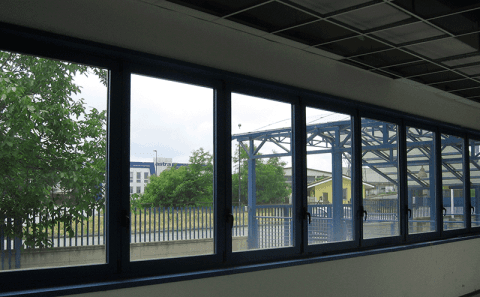 finestre in alluminio