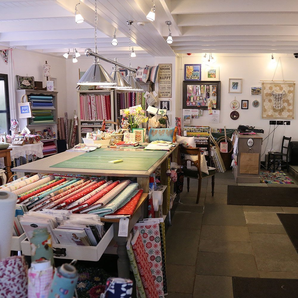 Interior view of the store in Halifax