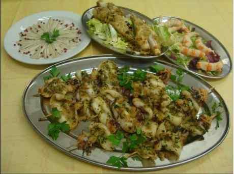 piatti a base di pesce