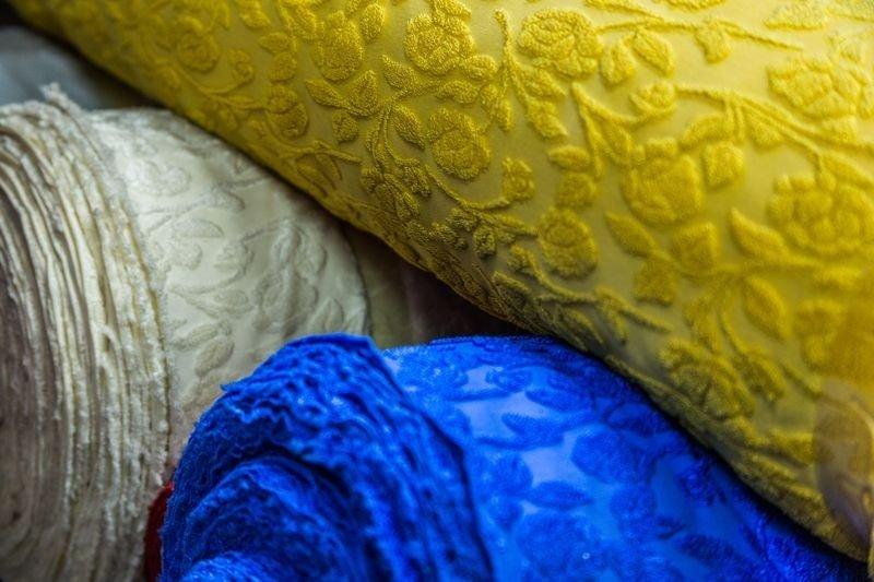 tessuto a maglia sintetico devore